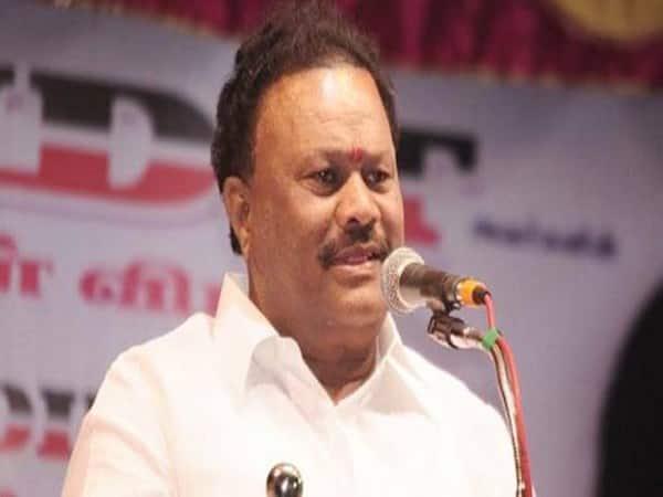Lock the door of the minister Dindugual seenivasan