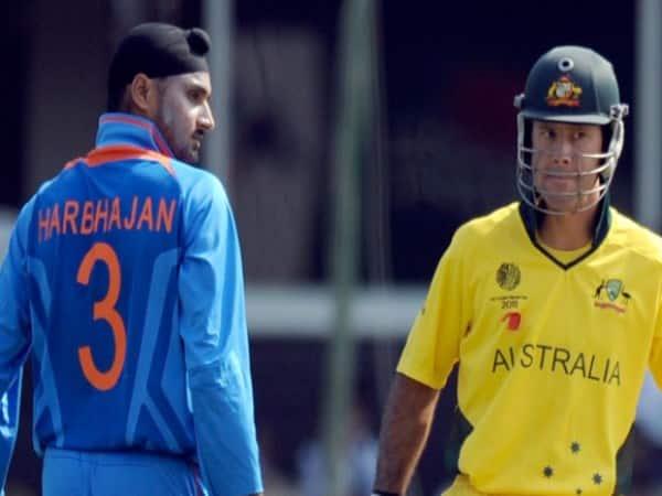 harbhajan singh reveals when he got afraid of ricky ponting