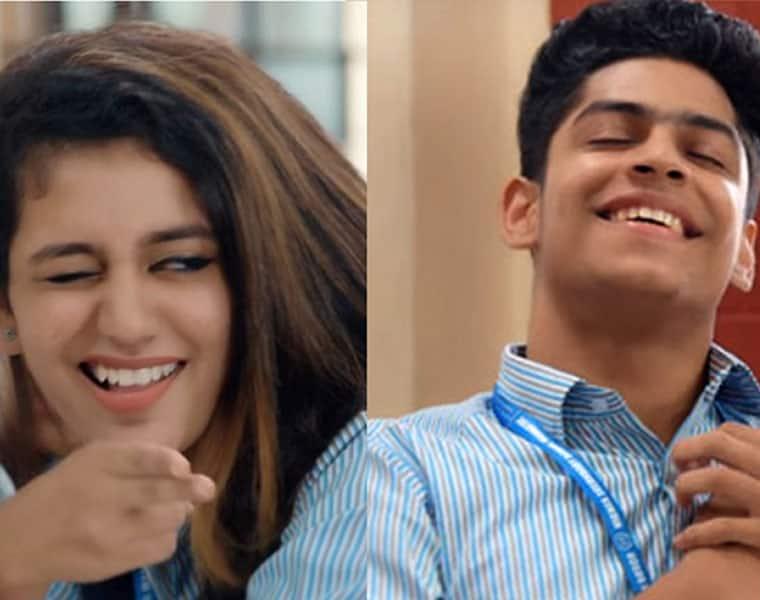 Oru Adaar Love teaser If Priya Varriers wink excited you her flirty antics here will make you go crazy