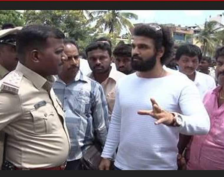 Actor Arjun Dev attacked by miscreants