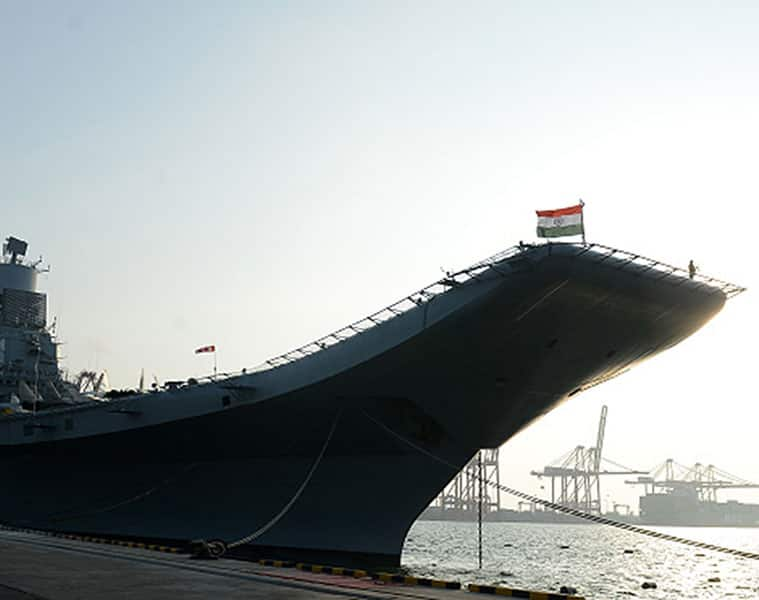 Naval officer dies fighting fire on board Aircraft Carrier INS Vikramaditya