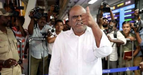 Retd Justice Karnan Appeals To West Bengal Governor For Release On Parole