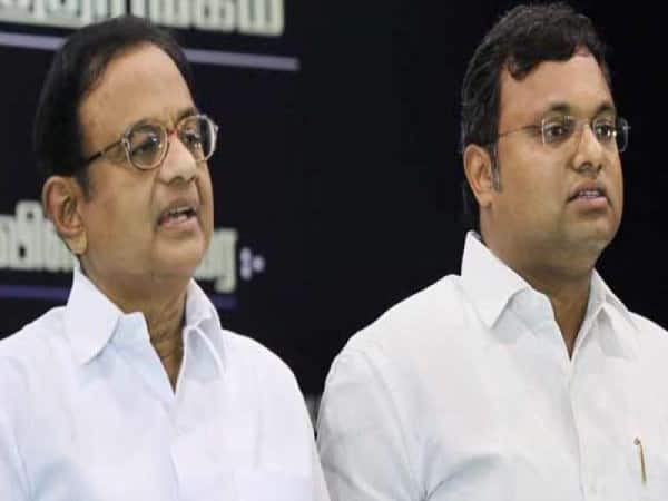 ED want to arrest former home minister chidambaram and his son karti