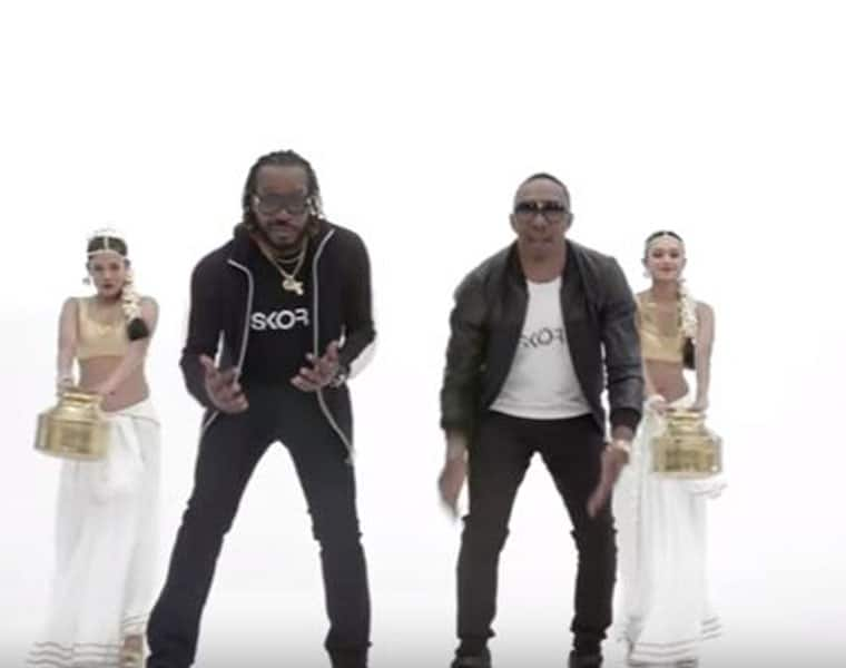 DJ Bravo and Chris Gayle Have Recreated The Champion Song Into A Peppy Ad For Skore Condoms