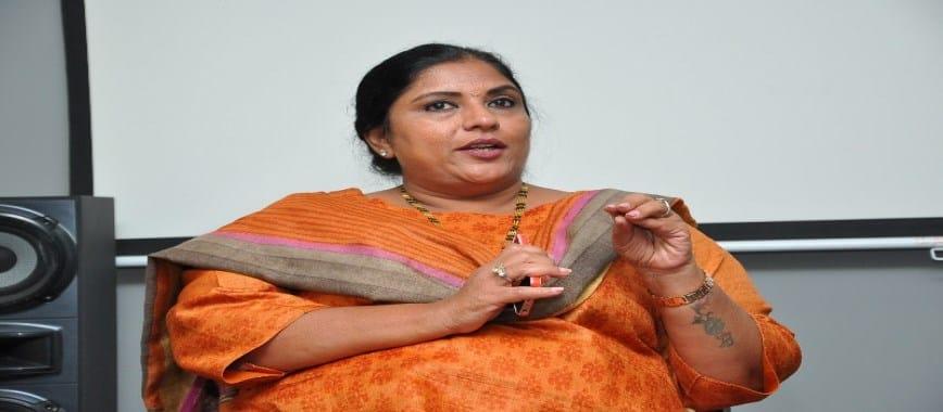 Actress Sripriya campaign in Puduchery