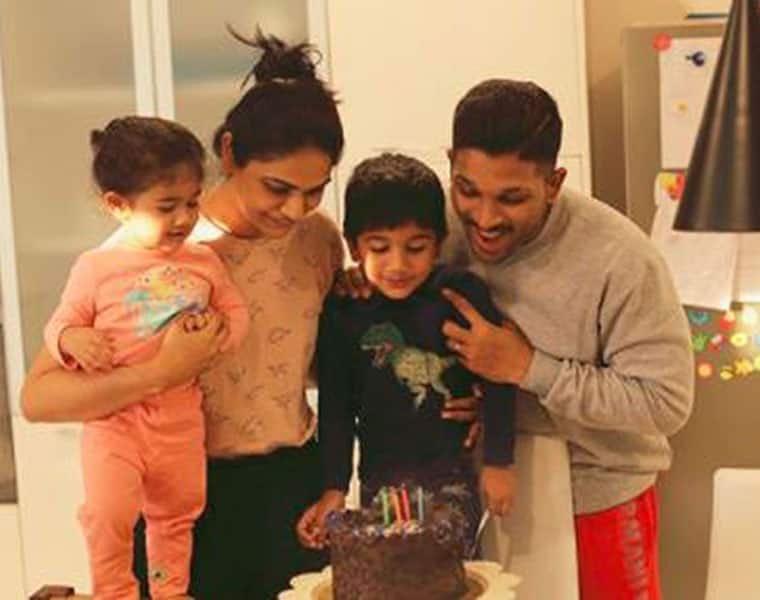 Allu Arjun son Ayaan birthday picture goes viral