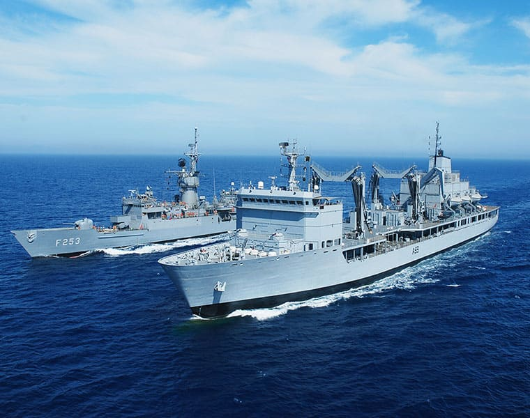 Did Indian Navy storm into Pakistani waters?