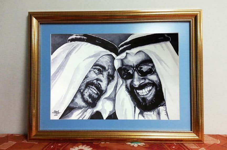 A painter from Kerala who impressed Sharjah ruler