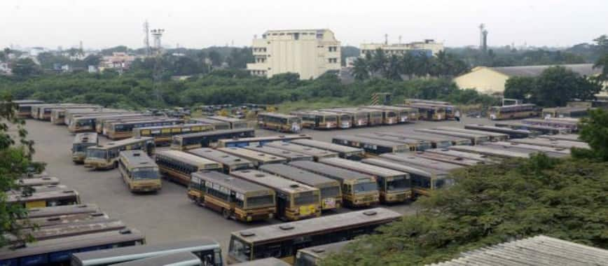 Court fixing of spare buses