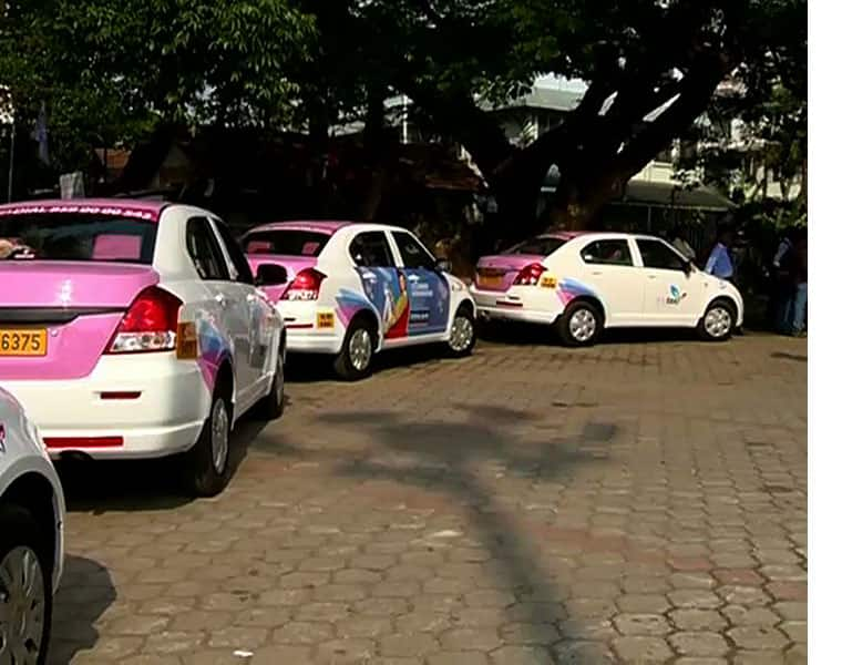 she taxi service all over kerala from may 11