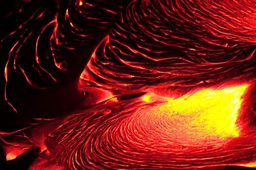 Volcanic eruption on December 31