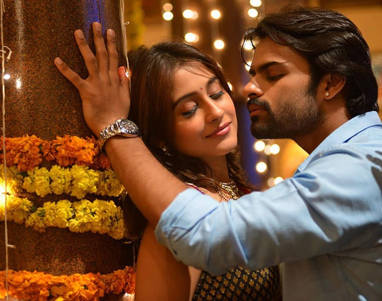 Sai Dharam Tej strategising for film success by cosying up with fans