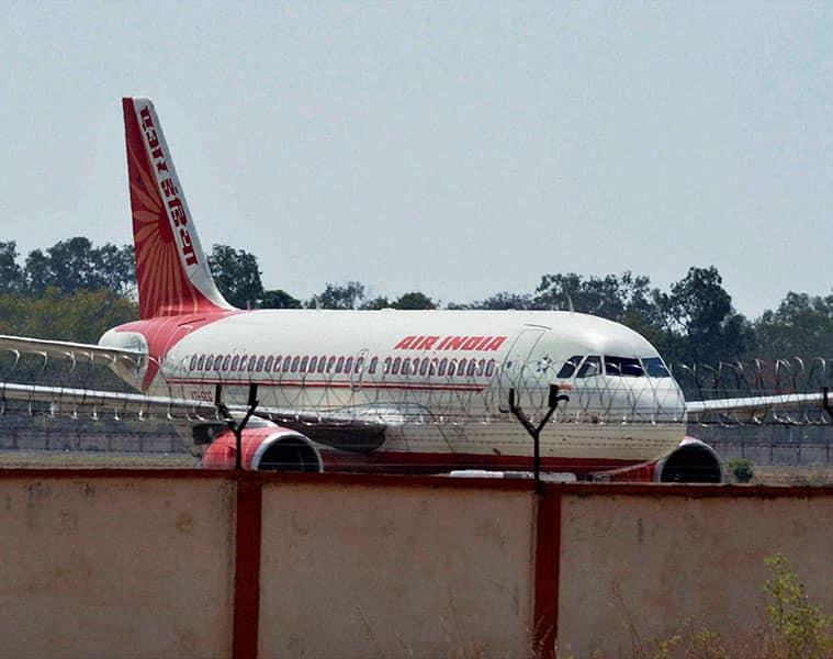 air india ground staff in on strike, flights delay