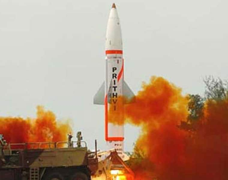 prithvi-2 missile successfully tested nuclear weapons India defence