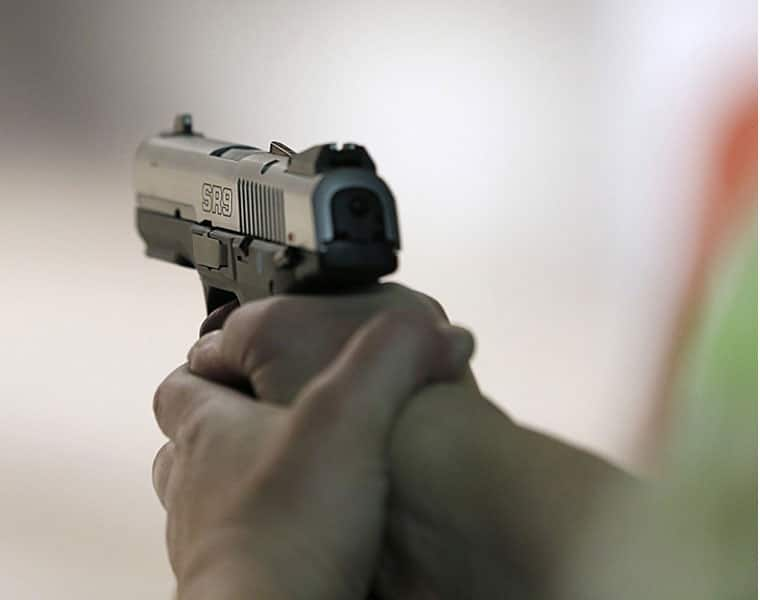In gurugram security guard shoot Judge's wife and son in the middle of market