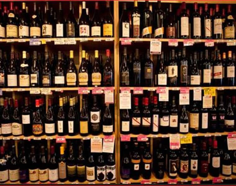 wine shop robbery at uppal