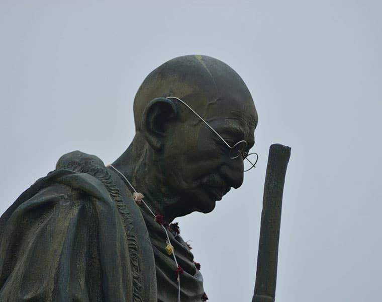 Man Arrrest for Disparagingly of Gandhiji