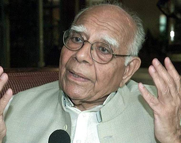 Former Union law minister, prominent lawyer Ram Jethmalani passes away at 95