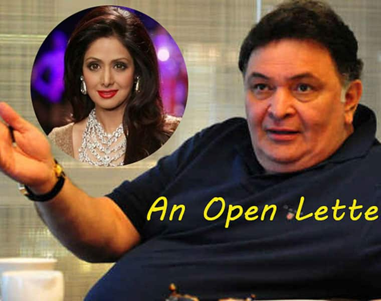 Dear Rishi Kapoor what wrong with calling Sridevi body a body An open letter to Rishi Kapoor