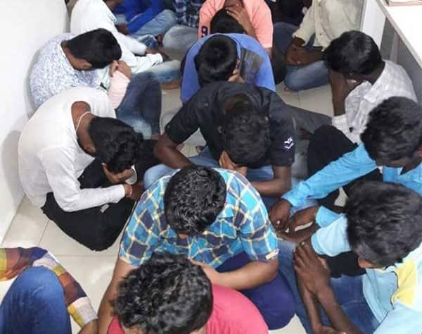51 eveteasers arrested in shamirpet area