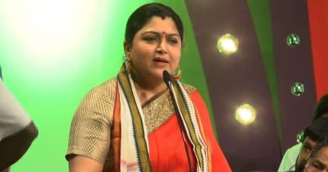 kushboo speaks about her campaign experiance