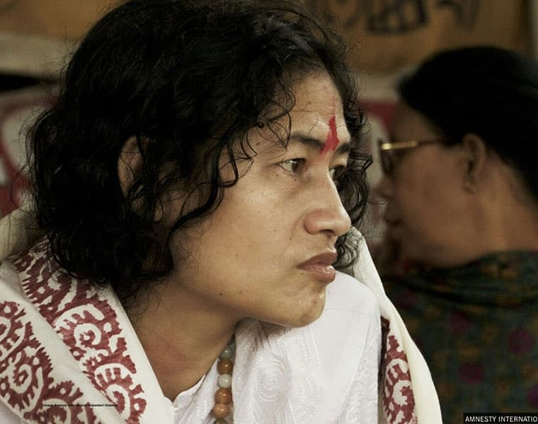 irom sharmila gives birth to twins today