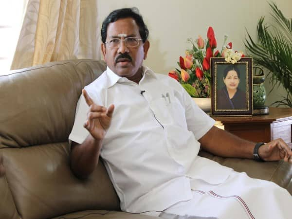 senthil balaji attack speech minister pandiarajan