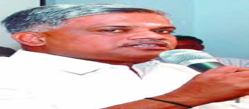 O Raja is responsible for parallel to Union Minister