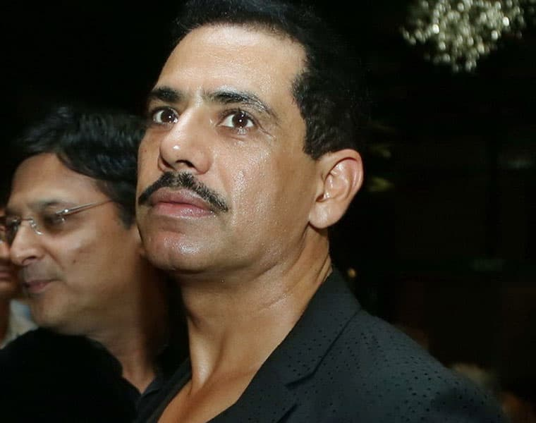 Congress leader Priyanka Gandhi husband Robert vadra property seized in Bikaner by ED