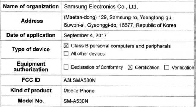 TechnologySamsung Galaxy A5 2018 leaked may come with infinity display