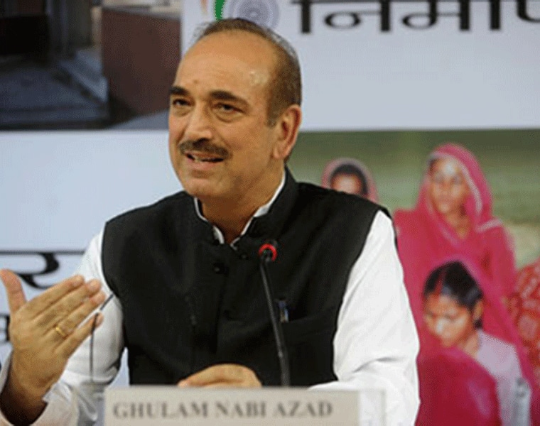 Hindu brothers don't call me for campaigning, there is fear: Ghulam Nabi Azad