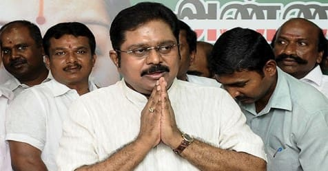 Alliance with Kamal-Rajini Party Action taken by TTV Dhinakaran