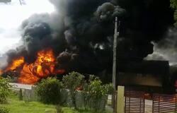 Petrol Tanker Blast at Kaduru