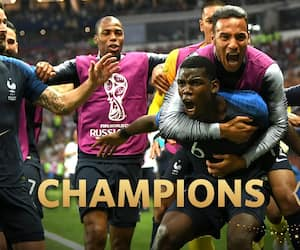 FIFA World Cup 2018: Skilful France win crown, but Croatia win hearts in final with many talking points