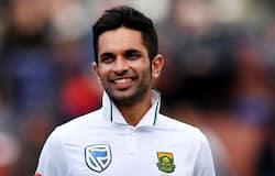 Keshav maharaj took nine wickets in a inning against srilanka