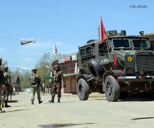 Kashmir on high alert as terrorists plot major attack on security forces