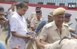 woman threw ink on MuzaffarpurShelterHome accused Brajesh Thakur