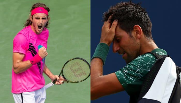Rogers Cup  Novak Djokovic Greek Stefanos Tsitsipas  Rafael Nadal Tennis
