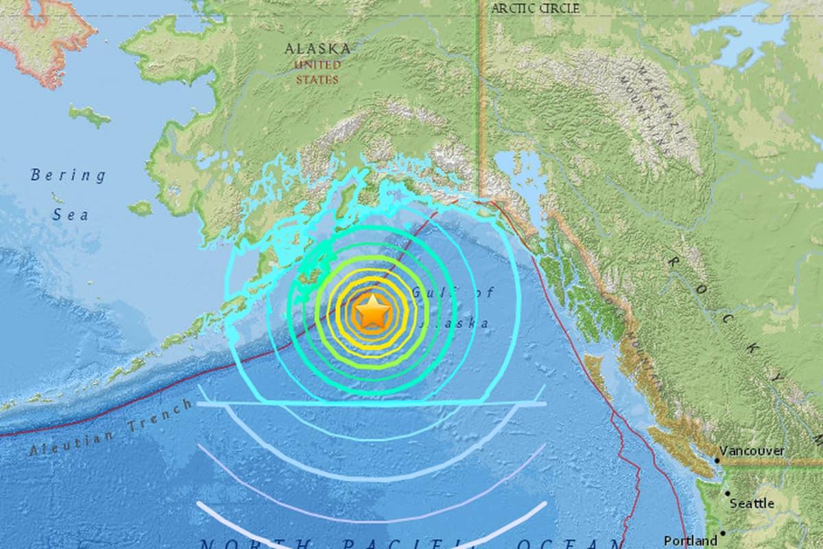 Alaska Massive 6.4 magnitude earthquake North Slope injuries damage