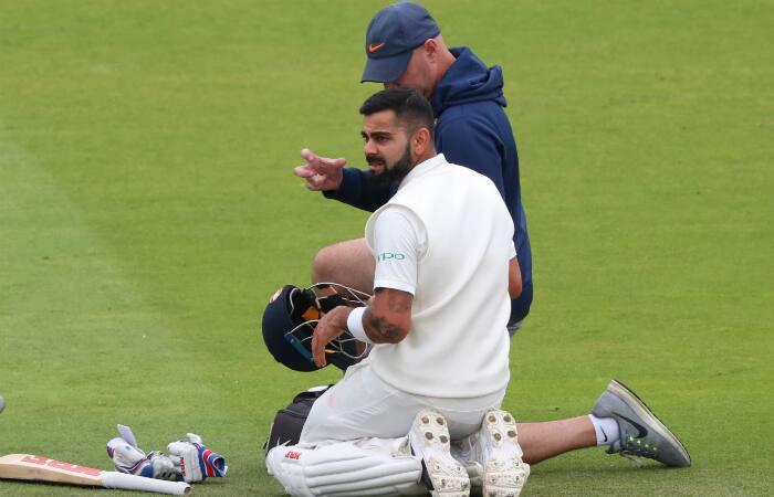 India vs England Virat Kohli injured 3rd Test Nottingham
