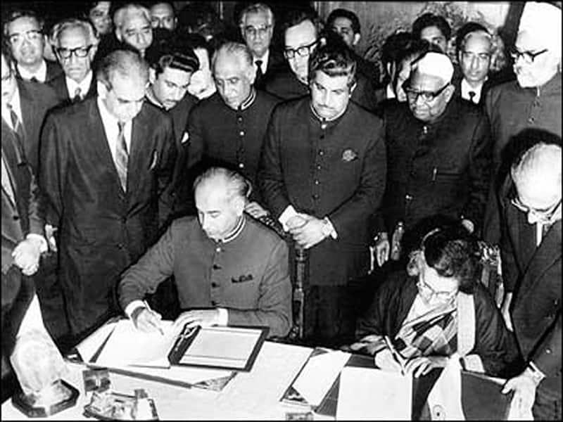 1972, ಜುಲೆ 2 - ಭಾರತ- ಪಾಕಿಸ್ತಾನ ಶಿಮ್ಲಾ ಒಪ್ಪಂದ ನಡೆದ ದಿನ
