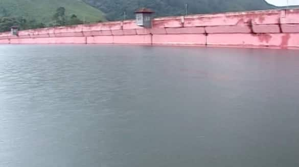 the water level in mullaperiyar dam reached 138.05 feet