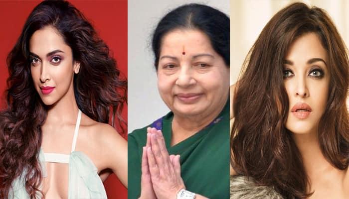 Aishwarya Rai Deepika Paudkone or Vidya Balan Who will star in Jayalalithaa biopic