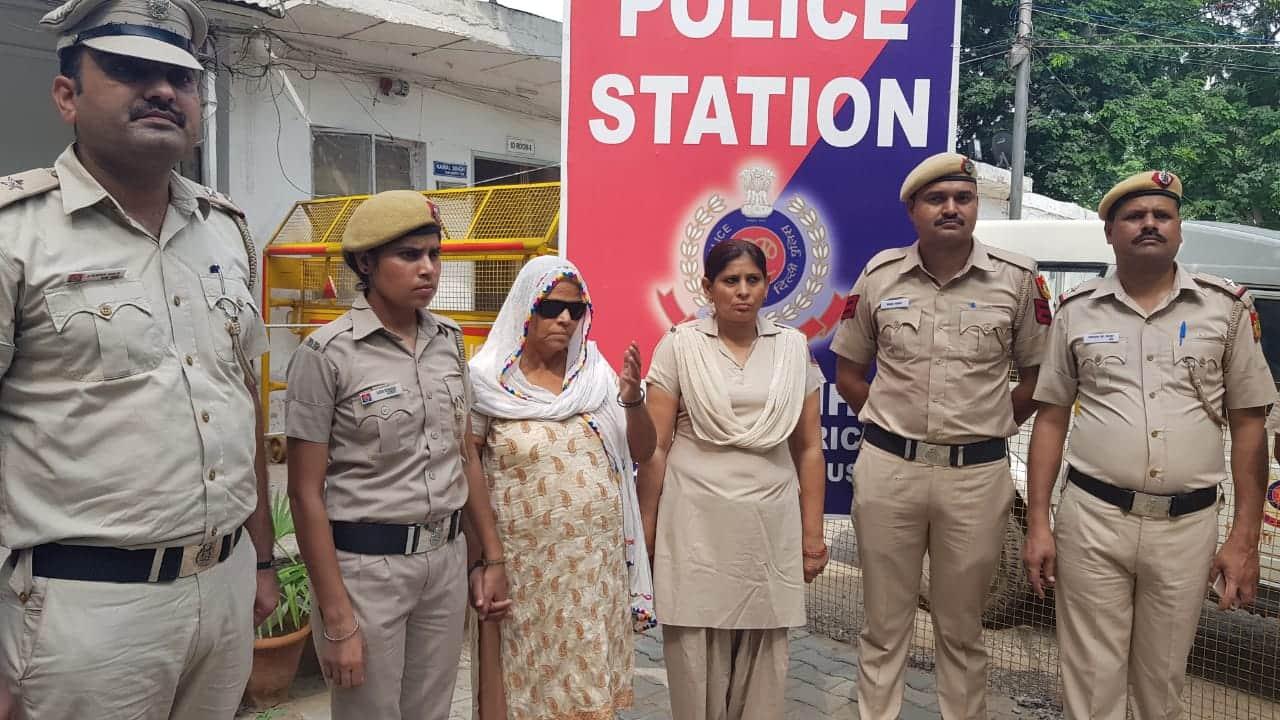 Delhi Police has arrested God Mother of crime