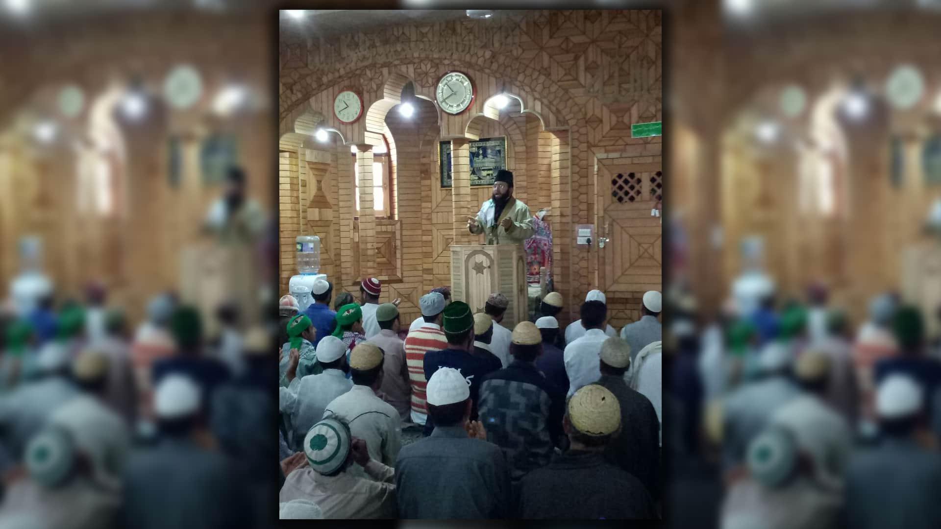 Kashmir imam terrorism violence drugs corruption youth Awami forum
