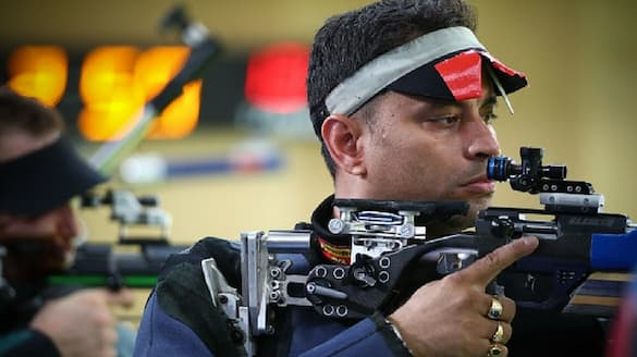 Tokyo Olympics: Aishwary Tomar, Sanjeev Rajput fail to seal finals spot in men's 50 m rifle 3 positions-ayh