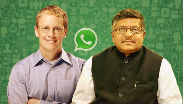 Fake news WhatsApp mob lynching Chris Daniels Ravi Shankar Prasad