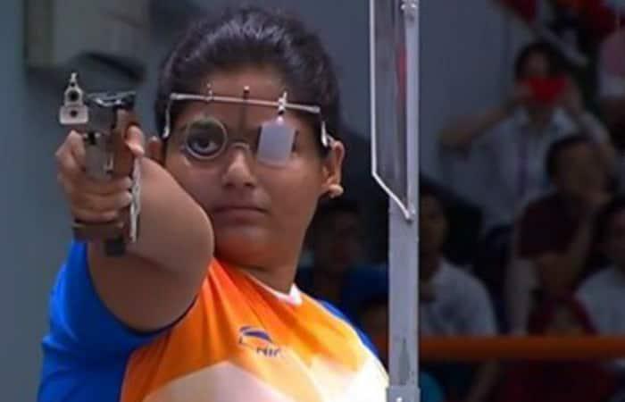 Asian Games 2018 Rahi Sarnobat historic gold shooting