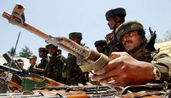 Kashmir Indian Army soldier injured Kupwara Jammu police Gursay Singh