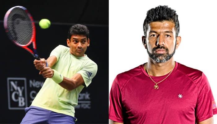 Asian Games 2018 Nation 6th gold Rohan Bopanna Divij Sharan win tennis